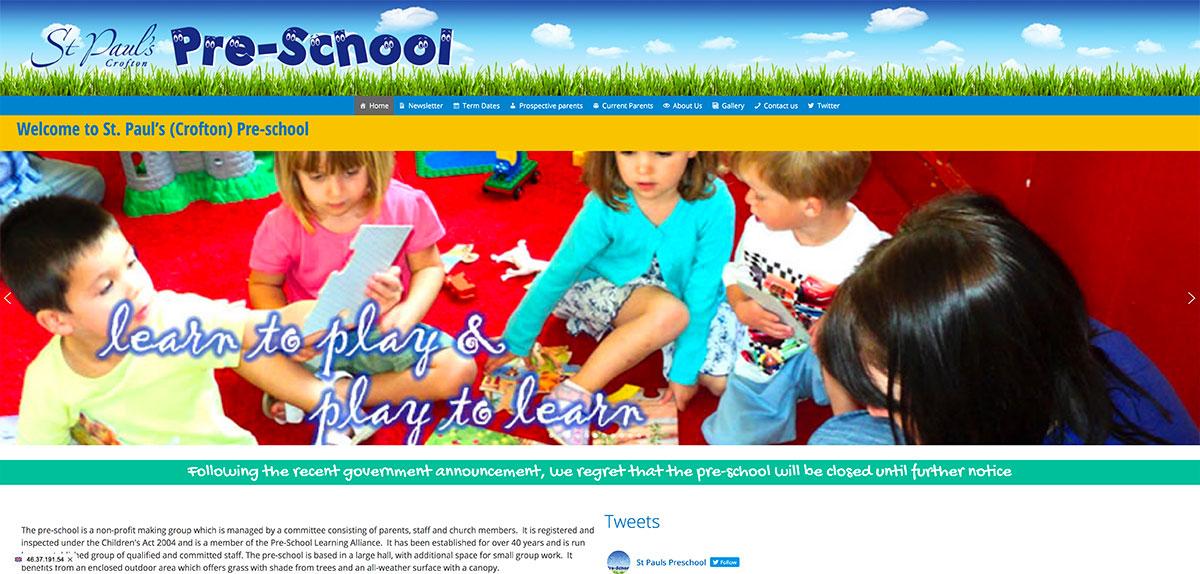 St Pauls Crofton Preschool