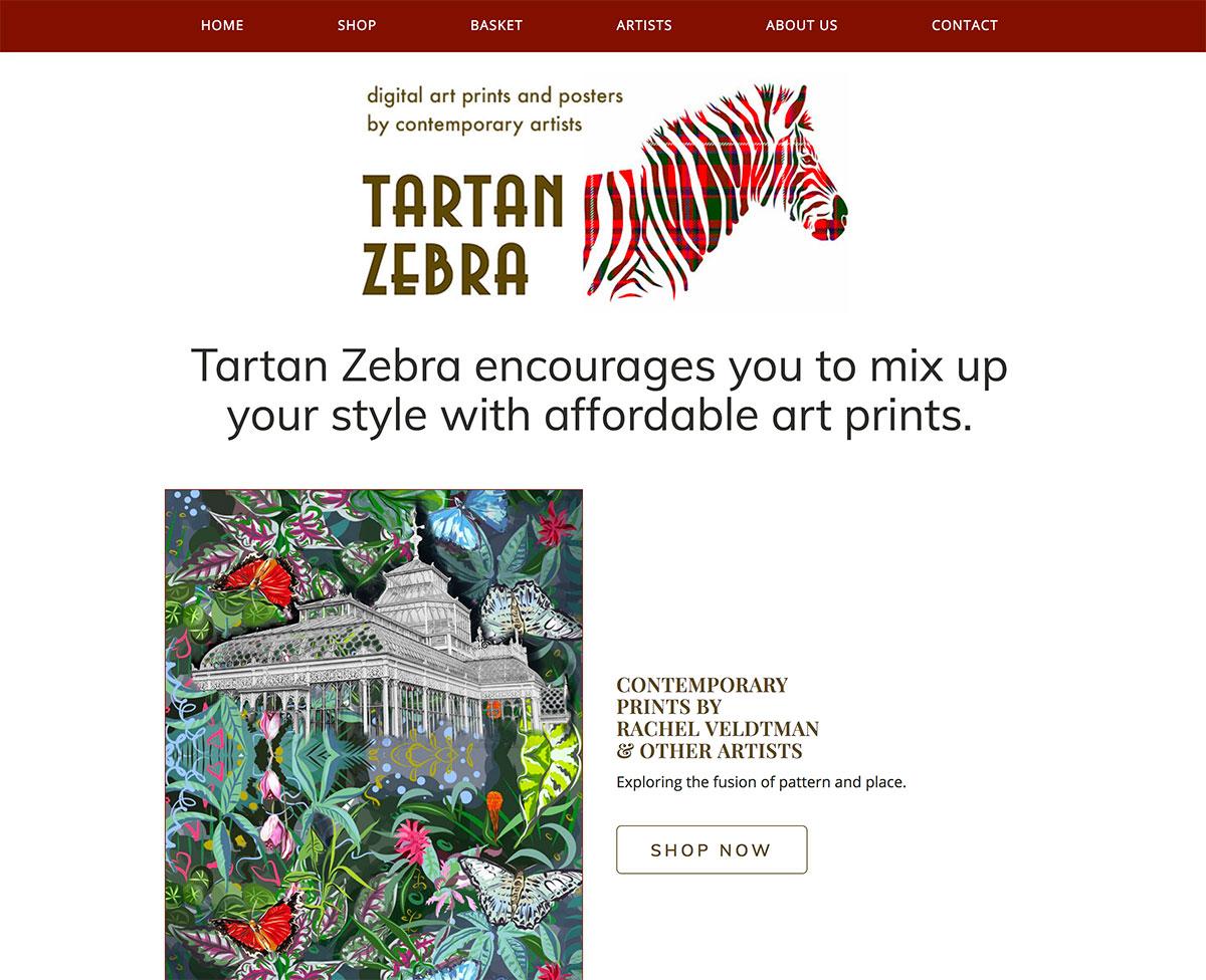 Tartan Zebra