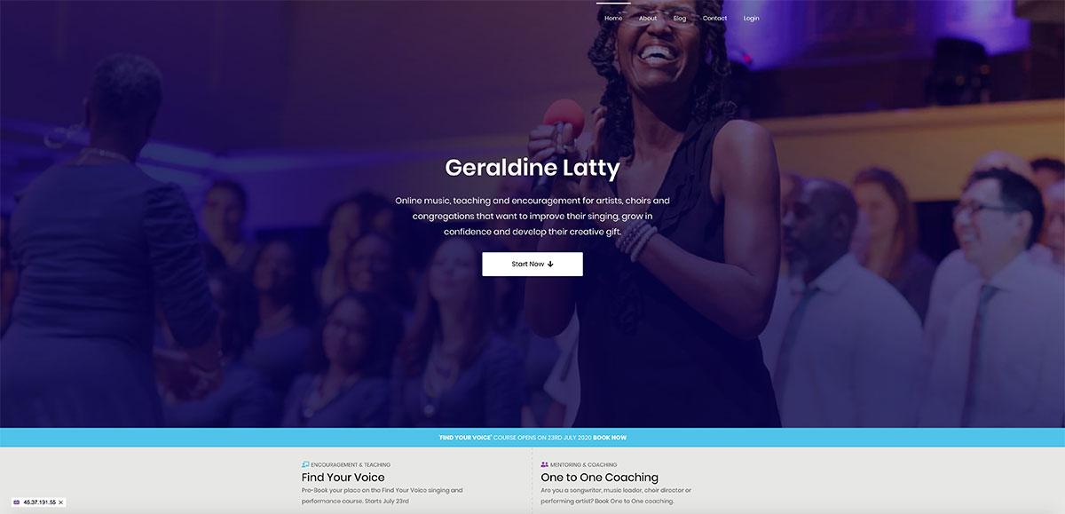 Geraldine Latty